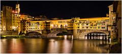 Ponte Vecchio (Antony Ward) Tags: florence italy pontevecchio bridge longexposure night
