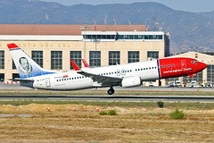 EI-FJD Boeing 737-8JP Norwegian Air International Miguel Cervantes CS AGP 23-09-18 (PlanecrazyUK) Tags: lemg malaga–costadelsolairport malaga costadelsol eifjd boeing7378jp norwegianairinternational miguelcervantescs agp 230918