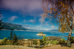 Autumn over Dospat dam (Toni Terziev) Tags: autumn dam dospat mountains mountain landscape landscapes rhodope bulgaria beautiful