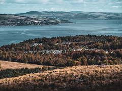 Autumn on the Clyde - Oct 2018 (GOR44Photographic@Gmail.com) Tags: firthofclyde river clyde autumn scotland argyll cowal inverclyde gor44 huntersquay dunoon trees water sea kilcreggan hills houses holy loch cloud panasonic g9 45200mmf456