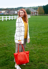 How to Mix Checks in Autumn, Over 40 Style | Not Dressed As Lamb (Not Dressed As Lamb) Tags: over 40 style fashion autumn fall outfit ootd checks plaid