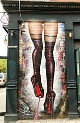 Goth Dom World Problems by GumShoe (wiredforlego) Tags: graffiti mural streetart urbanart aerosolart publicart bowery newyork nyc manhattan gumshoe