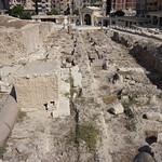 The Temple of Serapeum (ruins), the Pompey's Pillar, Alexandria, Egypt. thumbnail