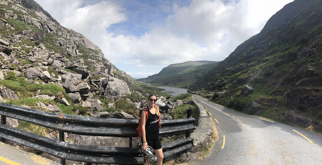 Biking Through Killarney