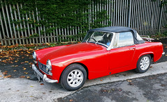 old mg (Duncan the road rebel) Tags: mg old classic classicvehicle car vintage vehicle vintagevehicle red convertible motorcar motorvehicle motor transport roadster