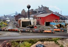 Steel Mill Trains (knutsonrick) Tags: