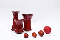18/31 Red October (belincs) Tags: 2018 lincolnshire october octoberproject uk flash indoors pottery red stilllife