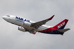 NAM Air Boeing 737-500 PK-NAK (atcogl - ATC @ YYZ) Tags: dps wadd denpasar bali bandung indonesia ngurahrai canon eos 5dmarkiv 100400f4556lismarkii aircraft airliner airplane plane aeroplane aviation avion flugzeug aviacion aviones aereo avioes in lkn nam namair pknak boeing 737 737500 737500w b735 classic sriwijayagroup