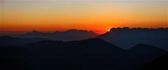 Lumière d'un soir d'automne (BOILLON CHRISTOPHE) Tags: sunset photoboillonchristophe sun landscape expo nikond4 photo france sommet lachaînedesaravis lachaînedefiz