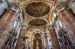 Baroque Interior of St James Cathedral (Colin Campbell Photography) Tags: austria baroque cathedralofstjames domzustjakob innsbruck tyrol