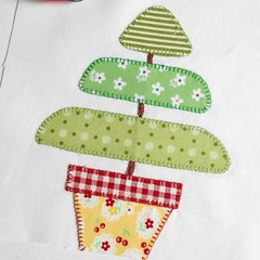 Block 35 - Topiary Tree (The Patchsmith) Tags: patchsmith patchsmithsamplerblocks patchsmithpatterns applique sewalong quickfuseapplique