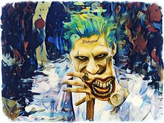 damaged (timp37) Tags: 2016 august illinois wizard world comic con joker chicago rosemont photolab cosplayer