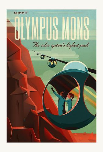 06-Carte postale // 10x15cm // Olympus Mons