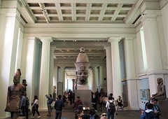 Head of Statue of Amenhotep III (Brule Laker) Tags: london england europe uk museums art britain greatbritain unitedkingdom britishmuseum