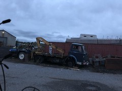 Ford D Series 1968 - KEB 143F (Paul.Bevan) Tags: ford truck classic vintage old dseries hiab chasiscab inverness wrecker recovery vehicle lorry 1960s keb143f rottingaway rusty scrap forgotten classicford blue