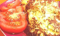 Receta tortitas de patata con calabacín (tone_michel) Tags: recetas de cocina