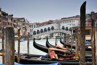 Venedig - Rialto Brücke