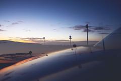 big sky reflected... (CatMacBride) Tags: car sky night reflected doubleexposure