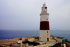 EUROPA POINT LIGHTHOUSE GILBRALTER UK-5972 (Gerry Slabaugh) Tags: gibraltar gerry slabaugh uk northafrica europe strait europaptlighthouse europa point lighthouse