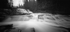 (facenorth) Tags: holga120wpc mediumformat 120film scan negative selfdeveloped kodakhc110 longexposure blackandwhite waterfall pinhole pinholephotography milf manilovefilm filmisnotdead film ilfordpanf50 northernontario newliskeard petesdam lomography lomo