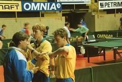 aum924 (Svenska Bordtennisförbundet) Tags: 1992 uem bengtssonstellan råsbergadam zööglingmikael copyrightsbtf