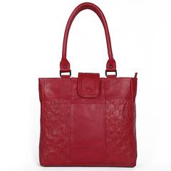 Women's Burgundy Cow PDM Genuine Leather Casual Shoulder Bag Wholesale (Viona Corset) Tags: shoulderbags casualbags leatherbags wholesalebags fashionaccessories