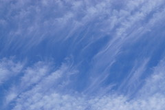Whispy Sky. (artanglerPD) Tags: whispy patterns blue white