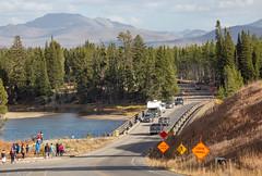 Construction at Fishing Bridge (YellowstoneNPS) Tags: construction fishingbridge maintenance