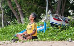 Daily routine (tomaszbaranowski007) Tags: portrait people routine beach sanur indonesia bali meditation