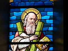 Church - St Andrews Catholic, Braemar 180711 [Stained Glass Window 1b] (maljoe) Tags: church churches braemar stainedglasswindow stainedglass stainedglasswindows