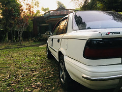 Toyota EE90 Restored (mohammed_apu) Tags: toyota corolla ae91 ae92 ee90 restored white jdm japanese rusty dirty trueno trd levin car