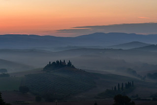 Today morning in San Quirico d'Orcia [EXPLORE]