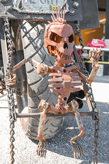 Back Seat Driver (shyfter) Tags: vintage iron hickory union moto motorcycle show kansas city missouri custom 2018
