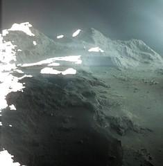 Comet landscape