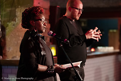 Malika Booker & Adrian Bailey (Penned in the Margins) Tags: perseverance poetry spoken word poet performance shoreditch hackney raymond antrobus bsl sign language deaf book launch books publishing poetic poem
