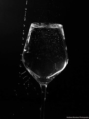 Black water (andreea_muntean) Tags: canoneos750d 55250mm glas shutterspeed speedlight homestudio andreeamuntean waterdrops blackandwhite artistic fineart drops blurr photographer photography octomber 2018 best search google