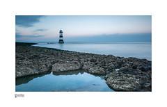 Penmon (Trwyn Du) Lighthouse Anglesey (steveowen528) Tags: lighthouse longexposure beach landscape wales anglesey penmon northwales seascape sea moody greatbritain coast uk rocks