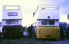 Slide 122-77 (Steve Guess) Tags: epsom downs racecourse surrey england gb uk bus open top topper topless plymouth portsmouth leyland atlantean erv251d wjy759