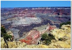 Grand Canyon South Rim (oar_square) Tags: grandcanyon arizonanationalpark landcape geologictimerecordedinstone spectacularviewpoint southrimofthegrandcanyonnationalpark geologicalhistory coloradoplateau coloradoriver sedimentaryrocksincludeshale limestone sandstone brightangelshale canyonsandgorgesinnorthamerica southwest