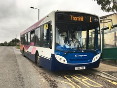 Stagecoach South Wales 28710 (Nathan Thorn) Tags: stagecoach bus scania enviro 300 south wales cwmbran x3 thornhill 28710 yn14fvb