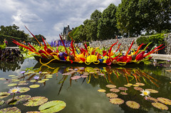 Boat of Chihuley Glass (rschnaible) Tags: biltmore estate house mansion the south asheville north carolina chihuley glass art display