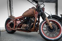 Brightona 2018-Honda Rust (Caught On Digital) Tags: brighton brightona chopper custom honda motorbikes motorcycles sussex