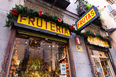 Fruteria (Five Second Rule) Tags: madrid travel spain capital 2018 fruteria fruit vegetables grocers food shop front traditional