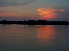 Evening sun on the clouds over the Mekong 1 (SierraSunrise) Tags: clouds esarn evening isaan mekong mekongriver nongkhai orange phonphisai rivers skies sunset thailand weather