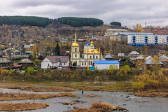 Church Of The Assumption Of The Blessed Mother of God (man_from_siberia) Tags: church christianchurch orthodoxchurch christian orthodox mundybash siberia autumn fall landscape