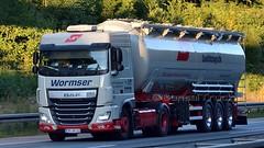 D - Wormser Qualitätslogistik DAF XF 106 SC (BonsaiTruck) Tags: spitzer wormser daf lkw lastwagen lastzug silozug truck trucks lorry lorries camion caminhoes silo bulk citerne powdertank