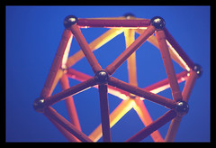 regular icosahedron (Neil Tackaberry) Tags: icosahedron geomag toy shape form 3d structure lattice geometric geometry tackaberry