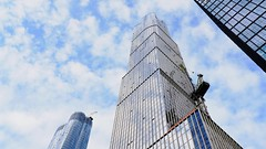 HY Clouds TL 103118 V2 with music (Michael.Lee.Pics.NYC) Tags: newyork timelapse hudsonyards video architecture clouds sky reflection sony a7rmw fe24105mmf4g construction