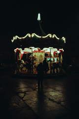 Carrousel (matteoguidetti) Tags: night city lights christmas natale giostra carrousel urban reflection riflessi luci