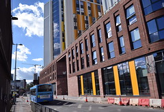 The Bishopgate student development appears to be open for business (paulburr73) Tags: bishopgate towerstreet coventry 2145 students development building volvo b7rle wrighteclipseurban wrightbus construction 2018 bus openforbusiness newbuilding nationalexpress nxc